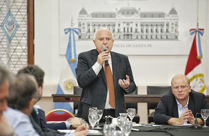 """Lifschitz: """"Está en juego el desarrollo mutual, económico y cooperativo de Santa Fe"""""""