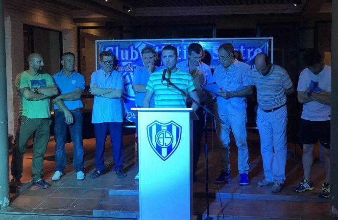Atlético Sastre presentó su nuevo bingo
