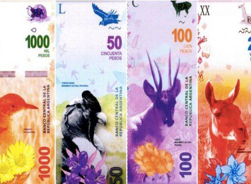 Estudian imprimir billetes de dos mil y cinco mil pesos