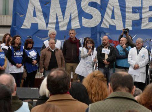 Amsafé anuncia medidas de fuerza para el 7 y 8 de julio