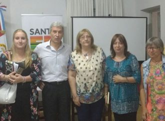 La Provincia presentó avance de obras en la Cuenca Arroyo Colastiné