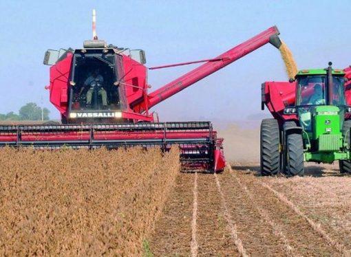 Ya se cosecharon 33,5 Mtn de soja con un rinde promedio de 22,3 qq/ha