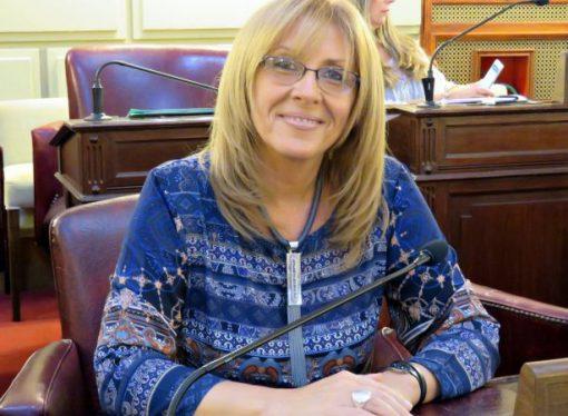 Claudia Giaccone no descartó su candidatura a gobernadora