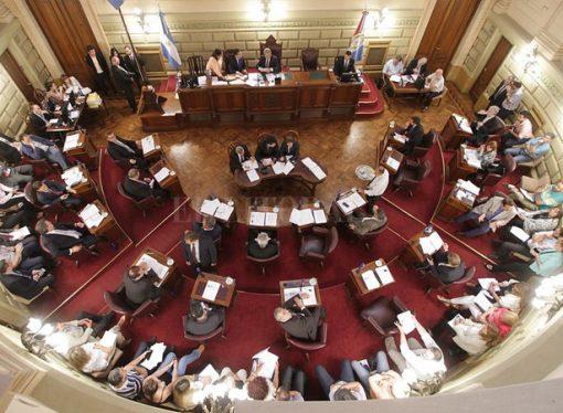 Presentaron el proyecto de Reforma de la Constitución en el Senado provincial