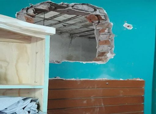 Boqueteros en San Jorge: robaron tres negocios en pocas horas