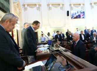 Bonfatti fue reelecto como presidente de la Cámara baja