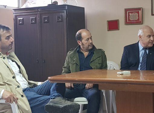 Lifschitz visitó la Asociación de Bomberos Voluntarios y la Jabonera de Cañada Rosquín