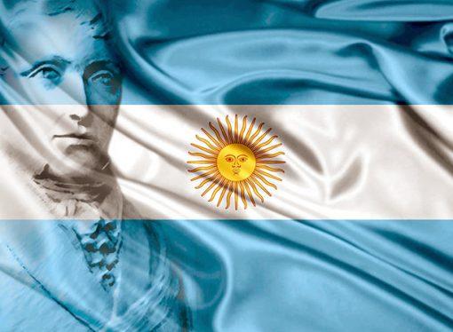 La bandera argentina, la que tiñó con sus colores a más de un tercio de América Latina