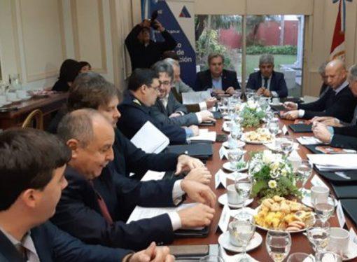 Farías presidió una nueva reunión de la Junta Provincial de Seguridad