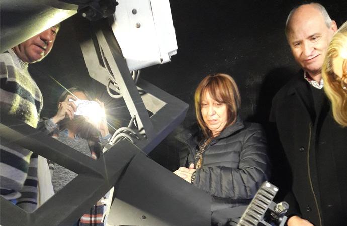Alumnos de San Jorge desarrollaron novedoso observatorio astronómico