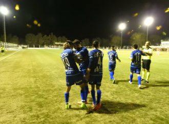 La Academia pegó primero y ganó en San Jorge