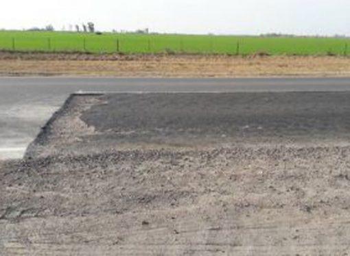 A menos de 2 años de ser reinaugurada, la ruta 66 ya está deteriorada