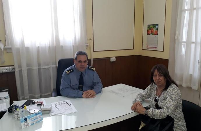 En una cargada agenda, la senadora Cristina Berra recorrió el departamento