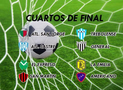 Atlético Sastre abre los cuartos el domingo a las 17