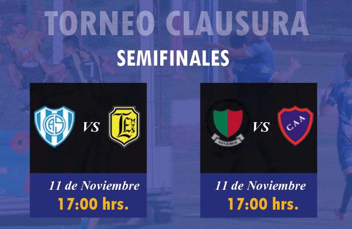 Las semifinales van el domingo a las 17