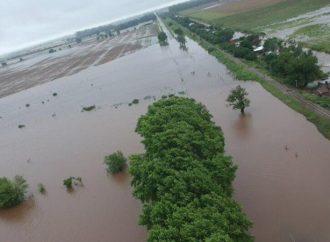 Hay más de 250 evacuados por el intenso temporal en la provincia