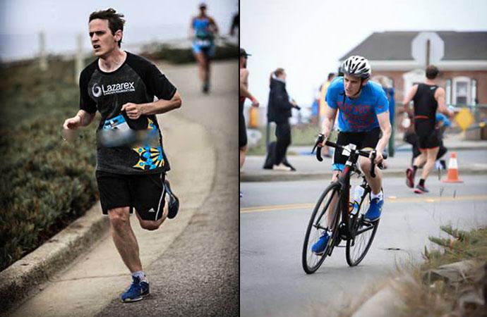 Sastrense completó el Ironman en Mar del Plata tras más de 12 horas de competencia