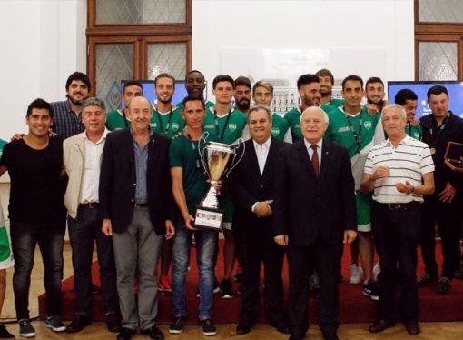 Lifschitz recibió a los campeones de la Copa Santa Fe 2018