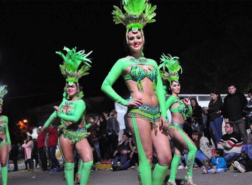 La Capital Provincial del Carnaval comienza a vibrar al ritmo carioca