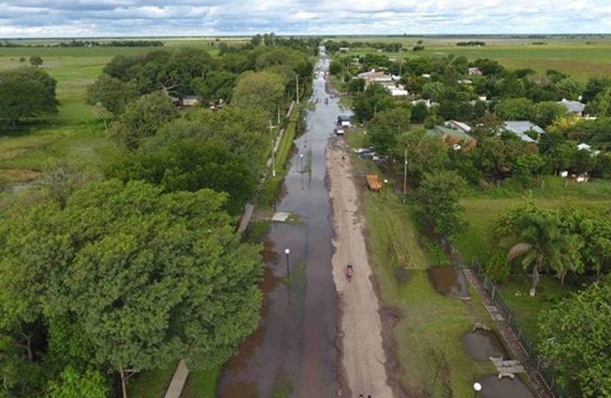 Emergencia hídrica en el norte provincial: bajó la cantidad de evacuados y anuncian nuevas lluvias