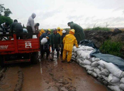 Hay 447 personas evacuadas por la emergencia hídrica