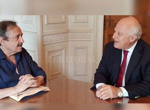 """Lifschitz con Alfonsín: """"Es posible construir un gran espacio de unidad nacional"""""""
