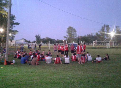 Unión comienza a moverse y suma sus primeros minutos de fútbol