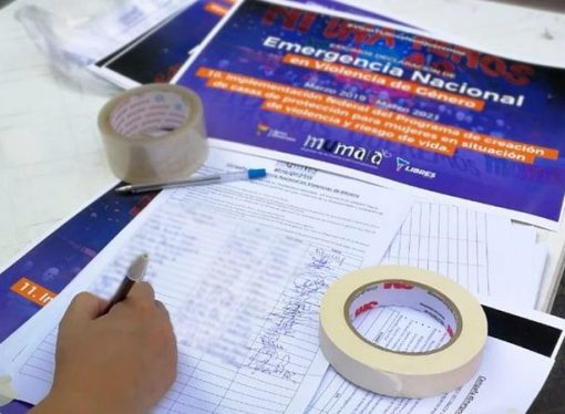 MuMalá Sastre junta firmas para que se declare la emergencia nacional en violencia de género