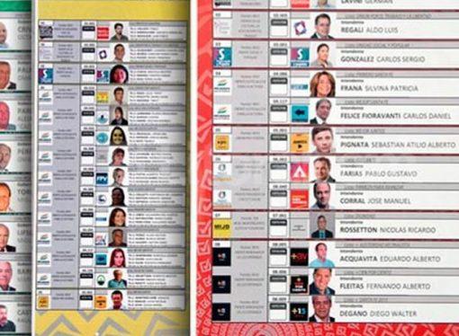 Así quedó el orden de candidatos en la Boleta Única para gobernador