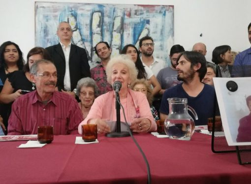 """Abuelas encontró a la nieta 129: """"Las numeramos para darnos fuerzas con el número que va aumentando"""""""