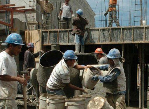 Los trabajadores de la construcción en Santa Fe cobrarán el 75% del sueldo