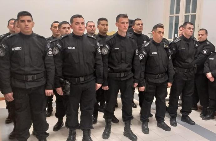 Integrantes de las fuerzas de seguridad se capacitaron sobre violencia de género