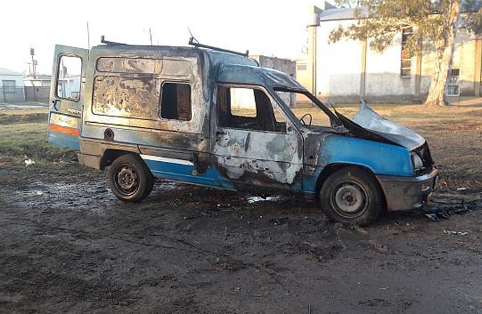 Un joven detenido por los incendios de vehículos en la ciudad de San Jorge