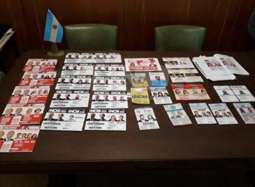 Así será la mesa de boletas para diputados nacionales en Santa Fe