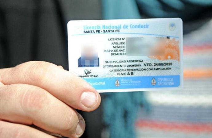 Licencias de conducir: prorrogaron el vencimiento en toda la provincia