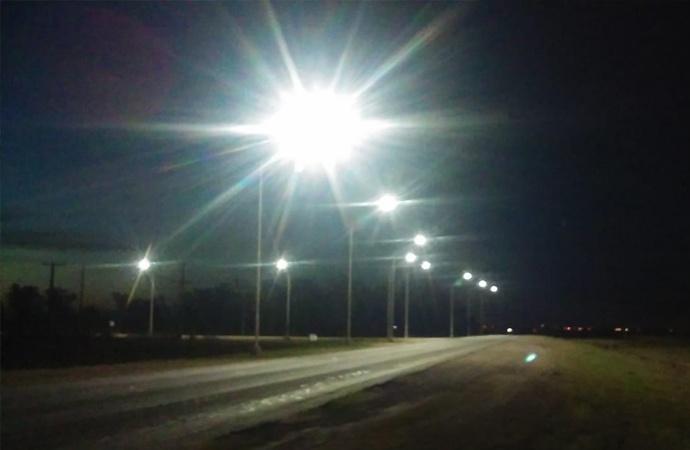 Traill iluminado