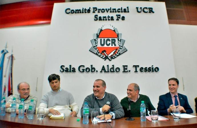 En el radicalismo santafesino quieren elecciones antes de fin de año para normalizar el partido