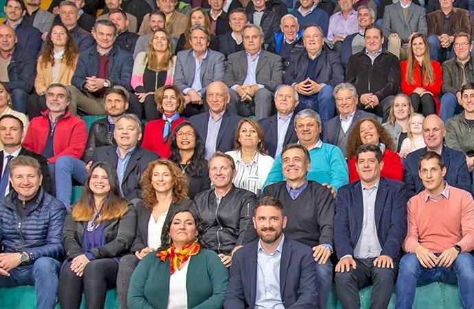 El Frente Progresista le brindó su apoyo a la lista que encabeza Enrique Estévez
