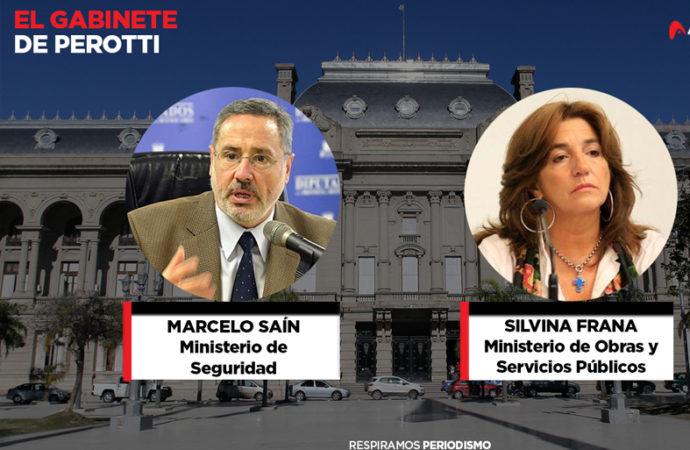 """Confirmado: Saín será ministro de Seguridad y Frana la """"superministra"""" de Obras y Servicios"""