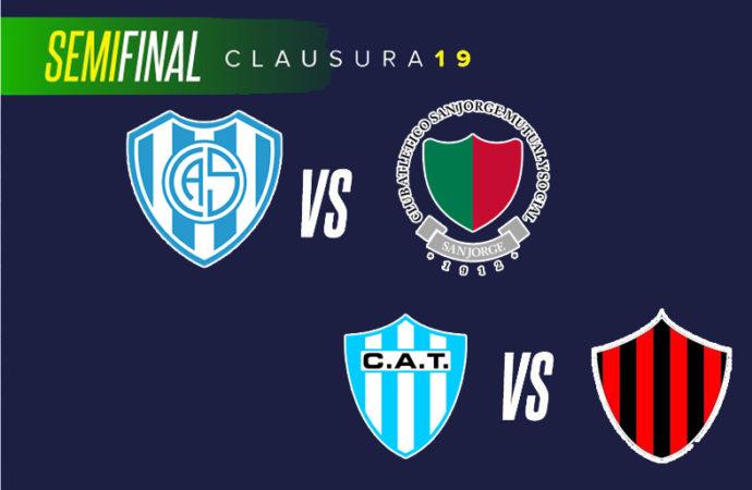 Las semifinales del Clausura van el domingo a las 17