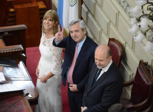 """Alberto Fernández garantizó """"toda la ayuda"""" para Perotti"""
