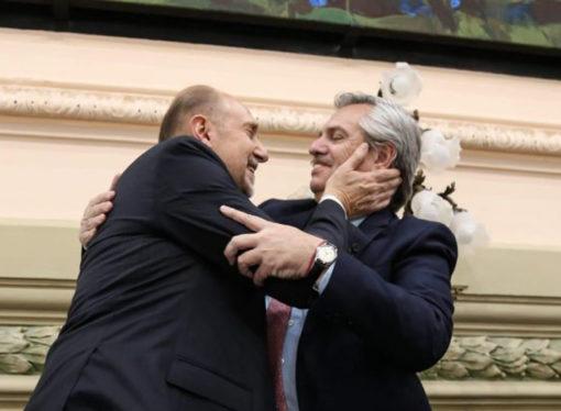 Las diez frases más destacadas del discurso de asunción de Omar Perotti