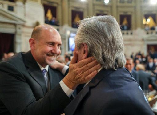 """Rodenas dijo que """"hay muchas posibilidades"""" de que Alberto Fernández esté en la asunción de Perotti"""