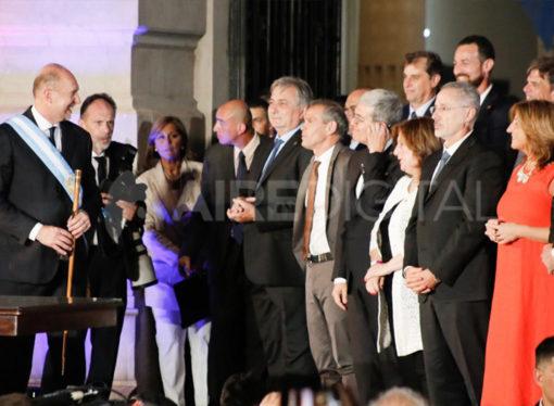 La palabra de los nuevos ministros elegidos por Omar Perotti