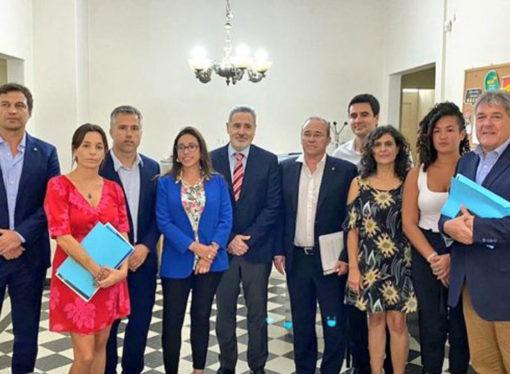El PJ respaldó a Perotti y pidió acompañamiento a la oposición