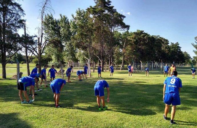 Atl. San Jorge comienza la pretemporada con la mente puesta en el Regional