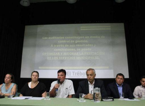 El Trébol: El municipio llevará adelante una Auditoría Interna