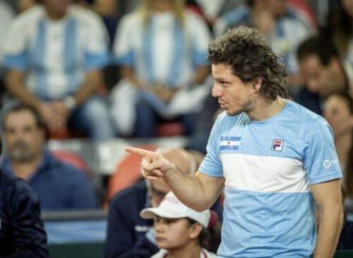 Gaudio confirmó el equipo para el repechaje de la Davis ante Colombia