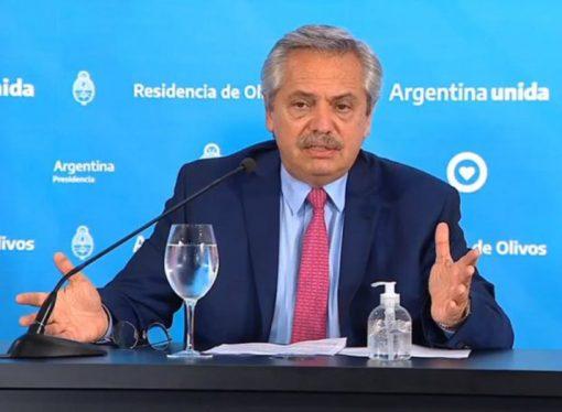 Alberto Fernández extendió la cuarentena hasta el 13 de abril