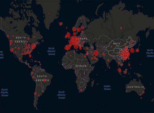 Coronavirus Reporte en Tiempo Real: 378,041 casos de contagio en 171 países